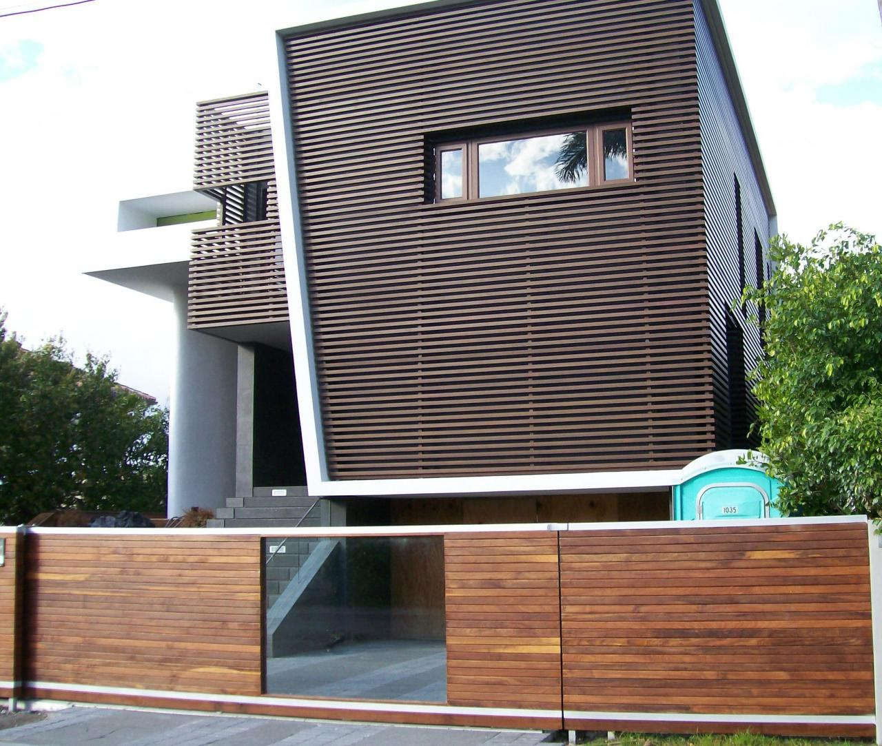Exterior Metal Cladding Systems : Miami fabricators inc cladding